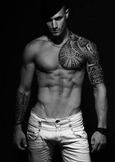 best chest and shoulder tattoos - Google Search
