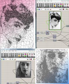 Voronoi Delaunay Tessellation - Grasshopper