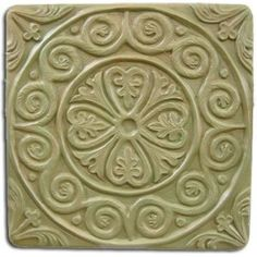 Medieval Tile Stepping Stone