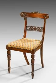 Set of Six Regency Mahogany Chairs c.1820 from Windsor House Antiques