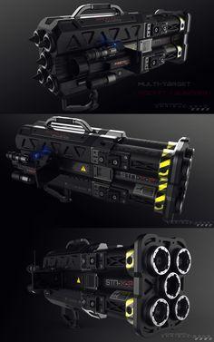 Sci Fi Weapons, Weapon Concept Art, Weapons Guns, Light Machine Gun, Types Of Swords, Ajin Anime, Future Weapons, Tac Gear, Firearms