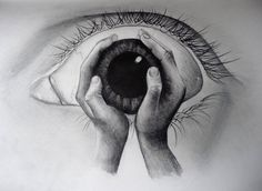 Illusion: The image above has a wicked visual effect. It is one of the many bizarre pencil drawings of Palmer0047.     (Image © Palmer0047)    http://illusion.scene360.com/art/29141/eye-of-the-beholder/