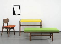 Jens Risom furniture re-issued by Rocket and Benchmark - Dezeen