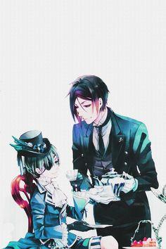 Image de kuroshitsuji, black butler, and anime