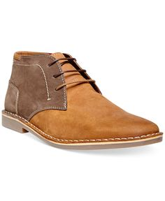 6fe595a6d22a75 Steve Madden Harsen Chukka Boots Men - All Men s Shoes - Macy s