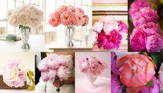 My wedding flowers ... lots of peonies!