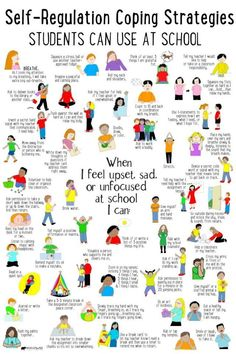 What's Included: ✔ 50 Self-Regulation Coping Strategies Students Can Use at School poster ✔ Checklist to identity coping skills ✔ Spinner Craft ✔ Task Cards perfect to use in your Calm Down Corner, Zen Zone, Peace Center area. Calm Down Corner, Education Positive, Education Week, Positive Discipline, Education System, Higher Education, Physical Education, Montessori Education, Character Education