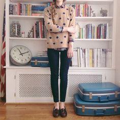 Polka Dots, sweater