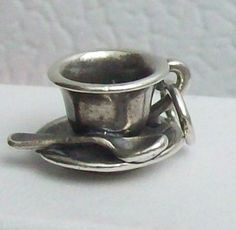 Vintage James Avery Sterling Silver Tea Cup - must find one!