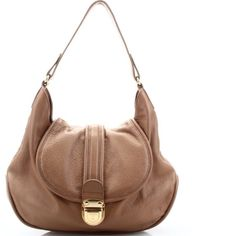 Tahari tan/light brown purse Very soft Leather. Great shape. Tan/ light brown with gold accents.  10 X 15.5 inches with approx 8 inch drop. Bag is clean inside and out. Tahari Bags Shoulder Bags