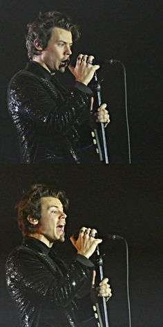 Harry on stage in Basel 11th March, 2018