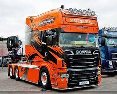 Beautiful Scania truck. LongLine or custom? #nice #cab #sleeper