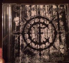 "CD #carpathianforest ""Strange Old Brew"" #norway #blackmetal #satanic Carpathian Forest, Satan, Black Metal, Norway, Music, Sleeves, Painting, Art, Sash"
