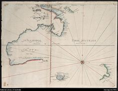 Maps and Charts - early exploration of Australia