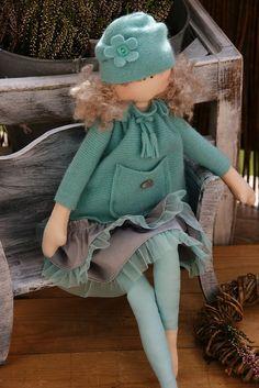 (By Anna Golda).* #beautiful doll pattern #tabathascreations www.tabathascreations.com