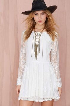 For Love and Lemons Lola Lace Dress