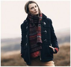 wool buttermere duffle coat | barbour.
