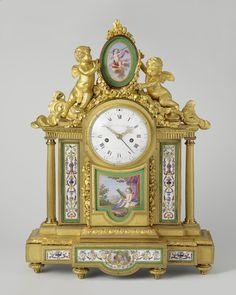 Mantel clock (pendule) |Montjoye, Louis | Rijksmuseum | Public Domain