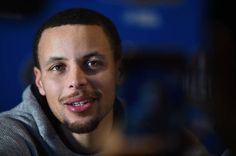 Stephen Curry of the Golden State Warriors speaks to the media during 2017 NBA AllStar media availability on February 17 2017 at the Ritz Carlton in...