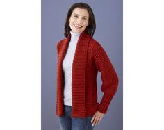 Drapey Cardigan (Knit)