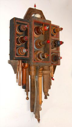 Assemblage by Larry Simons