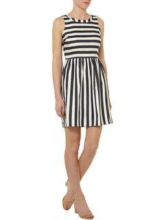 Love the stripes! / Dorothy Perkins Striped Denim Dress, $39   100 Insanely Cute Spring Dresses Under $50