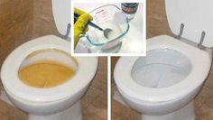 ¡Limpia tu inodoro y tu baño con esta mezcla de productos caseros que lo dejaran como nuevo!