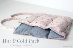 Tutorial | Hot and Cold Pack - Sewbon | A Sewing + DIY Blog
