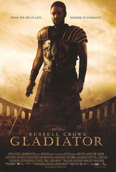 Gladiator. Russel Crowe's one of the most memorable performances in his life! You'll fall in love with hime after this story. #Gladiator, #RusselCrowe, #film