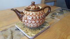 Teeuntersetzer mit Heuoberfläche