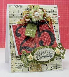 Tiffanys Paper Designs: Merry Christmas.