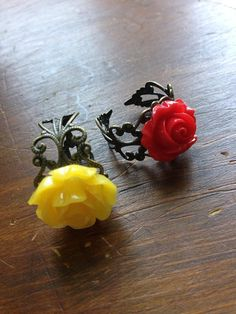 Hey, I found this really awesome Etsy listing at https://www.etsy.com/listing/200061400/beauty-and-the-beast-ring-disney