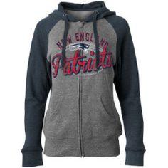 New England Patriots NFL Womens Arch Full Zip Hoodie 3d50076c5