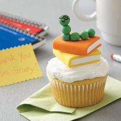 Wilton Bookworm Cupcakes