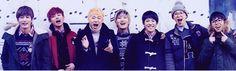 Jaehyo, U-Kwon, Zico, B-Bomb, Kyung, P.O., and Taeil - Block B