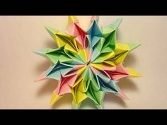 Origami Fireworks (Yami Yamauchi) - long version.I make these all the time and they are very popular with adults and kids alike.
