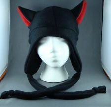 animal ears hats | Plush stuffed animal winter ear flap beanie hat white tiger NIP