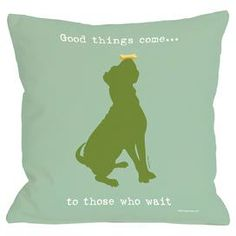 Good Things Come Pillow