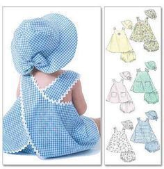 Bought pattern to make matching dress and hat for the summer! :)