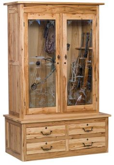 American Double Gun Cabinet