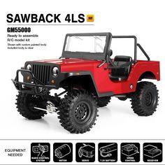 SAWBACK 4LS, GS01 4WD Off-Road Vehicle Kit.