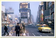 times square 1950s | Times Square in the 1950′s