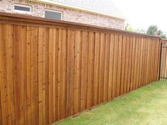Fascinating Useful Ideas: Fence Landscaping Modern wooden fence painting.Dog Fence Eyes timber fence home. Dog Fence, Pallet Fence, Front Yard Fence, Cedar Fence, Fenced In Yard, Fence Art, Rustic Fence, Fence Stain, Farm Fence