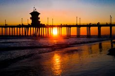 The world famous Huntington Beach Pier. As know as Surf City USA. The colorful orange and red colors of the sunset makes this image a must have for your home or office decor.    TITLE: Last Light  MEDIUM: Fine art photographic print (unframed/unmatted) or Canvas Gallery Wrap  PHOTOGRAPHIC PRINT SIZES: 8x10, 11x14, 16x20, 20x24, 20x30, 24x36  CANVAS GALLERY WRAP SIZES: 16x20, 20x24, 20x30, 24x36  ORIENTATION: Horizontal      PRINT DETAILS:  This image listing is for an unmatted and unframed…