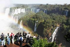Iguassu Falls Brazil. See for yourself! I  can show you!