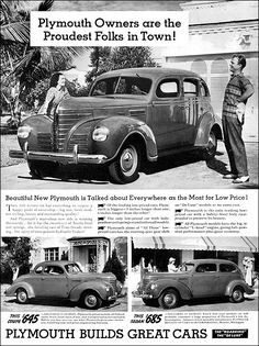 Plymouth 1939