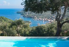 Book this individual handpicked Villas in Greece with private pool: Anastasia, Gaios , Paxos, Sleeps 4 Private Pool, Vintage Travel, Villas, Anastasia, Greece, Sleep, Greece Country, Villa, Mansions