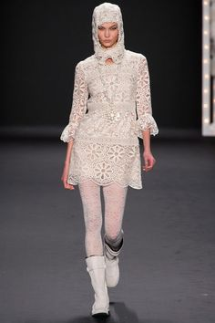 Anna Sui FALL 2013 READY-TO-WEAR New York