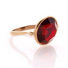 Swivel Ring - Blackcurrant