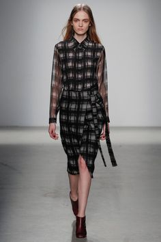 Damir Doma | Fall 2014 Ready-to-Wear Collection | Style.com [Photo: Marcus Tondo / Indigitalimages.com]